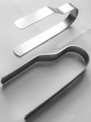 Fragrancia Resin Incense Accessory - Stainless Steel Charcoal Tongs 9 x 4 cm